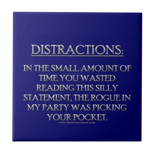 Distractions Tiles