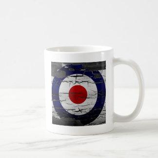 Distress Mod Target Symbol Basic White Mug