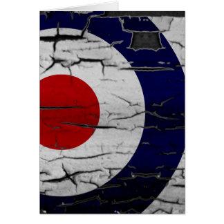 Distress Mod Target Symbol Card