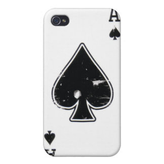Distressed Ace of Spade iphone case iPhone 4/4S Covers