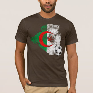 Distressed Algeria Soccer T-Shirt