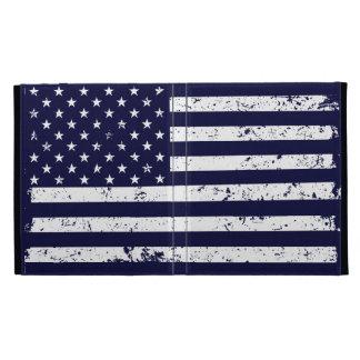 Distressed American Flag II iPad Case