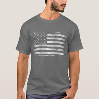 Distressed American Flag II T-Shirt