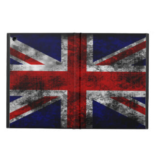 Distressed and Grunge Union Jack the U.K Flag Cover For iPad Air
