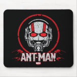 Distressed Ant-Man Badge Mouse Pad