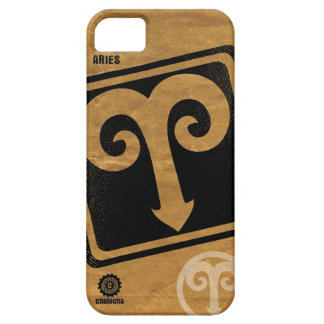 Distressed ARIES astrological symbol case iPhone 5 Case