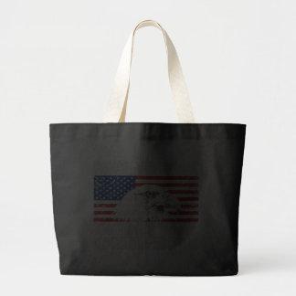 Distressed Back To Back World War Champs Jumbo Tote Bag