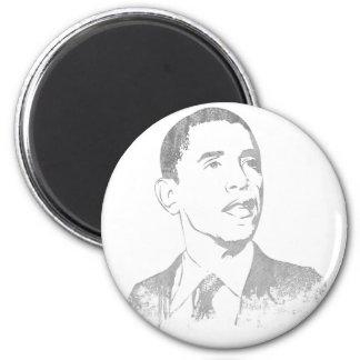 Distressed Barack Obama Magnets