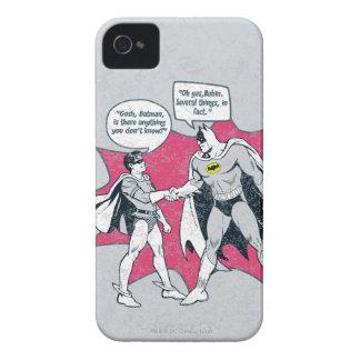 Distressed Batman And Robin Handshake iPhone 4 Covers