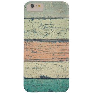 Distressed Beach Wood Pastel iPhone Case