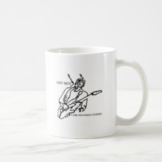 Distressed Border - 2-sided Ringer... - Customized Coffee Mugs