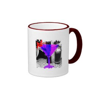 Distressed Border - 2-sided Ringer... - Customized Mug