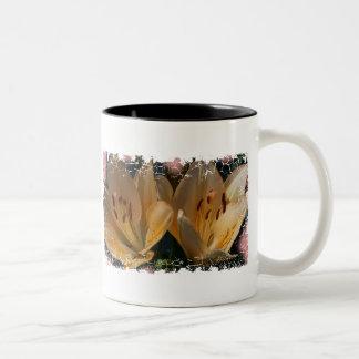 Distressed Border - 2-sided Ringer... - Customized Two-Tone Mug