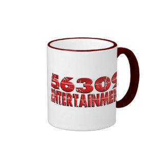 Distressed Border - 2-sided Ringer... - Customized Coffee Mug