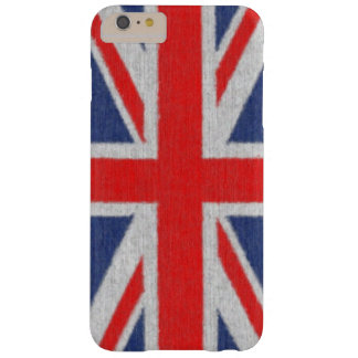 Distressed British Flag iPhone 6 case Barely There iPhone 6 Plus Case