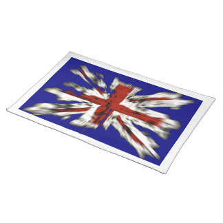 Distressed British Union Jack Placemat