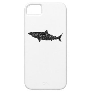 Distressed Bull Shark Silhouette Barely There iPhone 5 Case