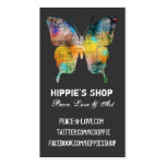 Distressed Butterfly Pack Of Standard Business Cards