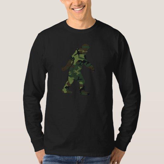 Distressed Camo Bigfoot T-Shirt