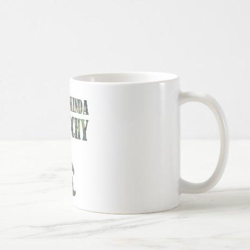 Distressed Camouflage Feelin' Kinda Squatchy Coffee Mugs