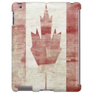 Distressed Canadian Flag  iPad case