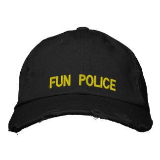 Distressed Cap Fun Police
