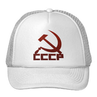 Distressed CCCP with Hammer & Sickle Hat