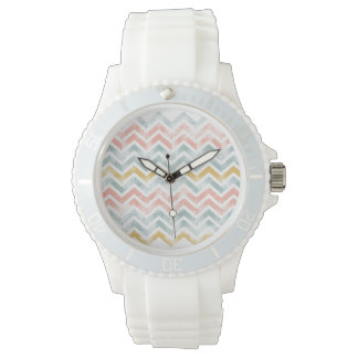 Distressed Chevrons Watch