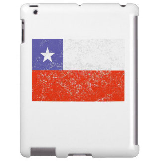 Distressed Chile Flag