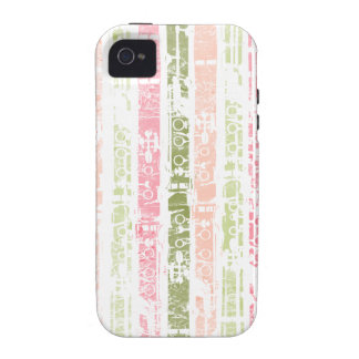 Distressed Clarinet Vibe iPhone 4 Covers