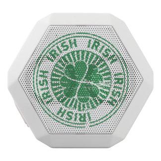 distressed clover irish stamp seal