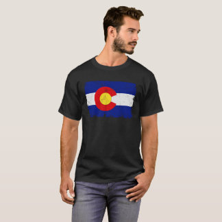 Distressed Colorado Flag T-Shirt