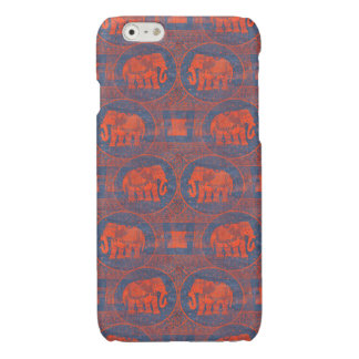 Distressed Decorated Elephants iPhone 6 Plus Case