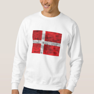Distressed Denmark Flag Sweatshirt