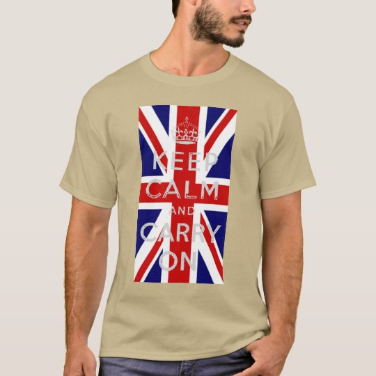 DISTRESSED DESIGN Keep Calm and Carry on U.K.