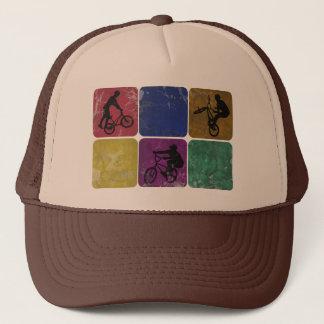 Distressed Freestyle Biker hat