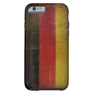 Distressed Germany Flag Tough iPhone 6 Case