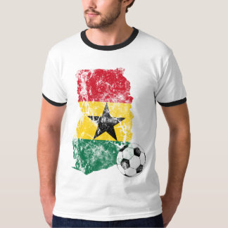 Distressed Ghana Soccer T-Shirt