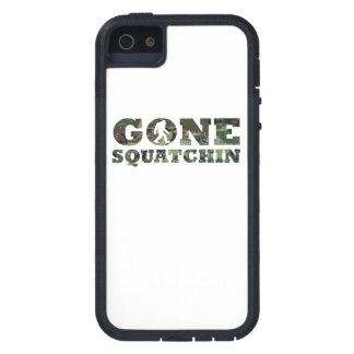 Distressed Gone Squatchin' Camouflage iPhone 5 Covers