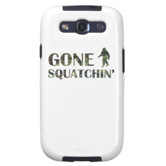 Distressed Gone Squatchin' Camouflage Samsung Galaxy S3 Cases