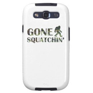 Distressed Gone Squatchin' Camouflage Galaxy S3 Cases