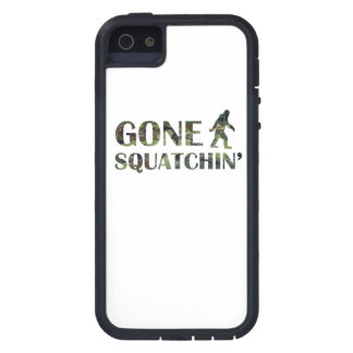Distressed Gone Squatchin Camouflage Cover For iPhone 5/5S