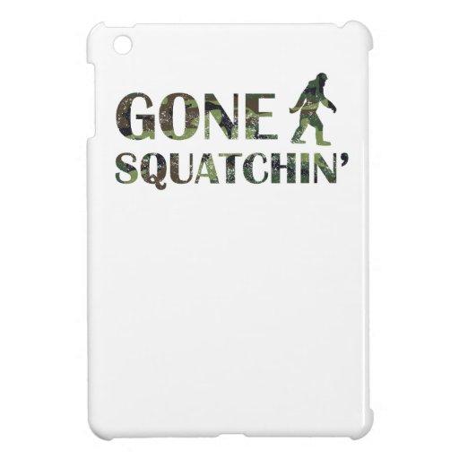 Distressed Gone Squatchin' Camouflage iPad Mini Cases