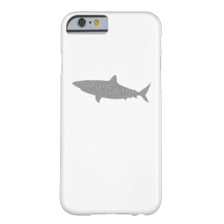 Distressed Grey Bull Shark Barely There iPhone 6 Case