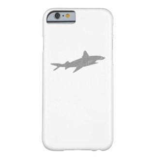 Distressed Grey Shark Barely There iPhone 6 Case