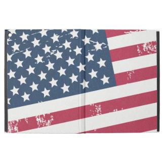 Distressed Grunge American Flag Old Vintage Look