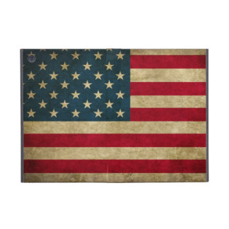 Distressed Grunge USA American Flag Covers For iPad Mini