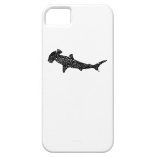 Distressed Hammerhead Shark Silhouette Case For The iPhone 5