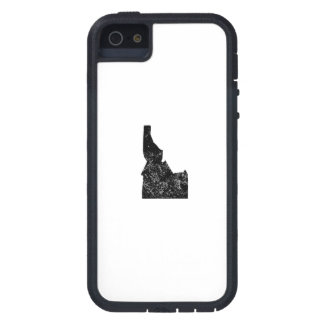 Distressed Idaho Silhouette Case For iPhone 5
