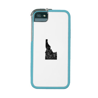 Distressed Idaho Silhouette iPhone 5/5S Cases